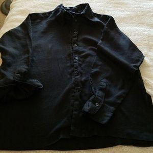 Gap SUPER comfy button-down shirt S-M